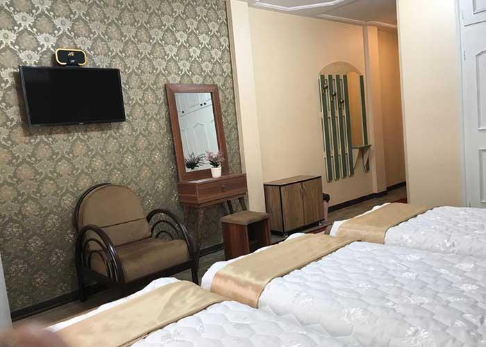 اتاق هتل وندیک همدان