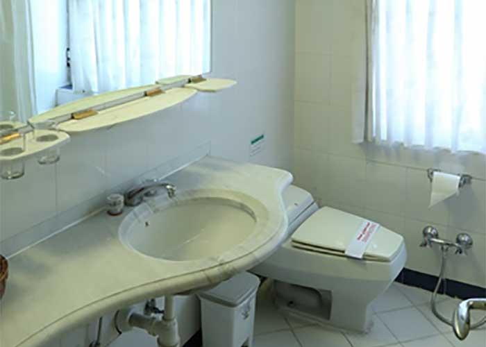 سرویس بهداشتی اتاق چشم انداز هتل عباسی اصفهان