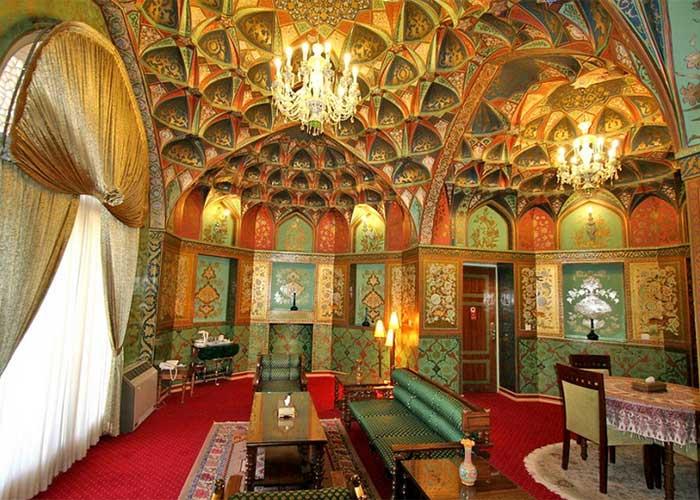 سوئیت صفوی هتل عباسی اصفهان