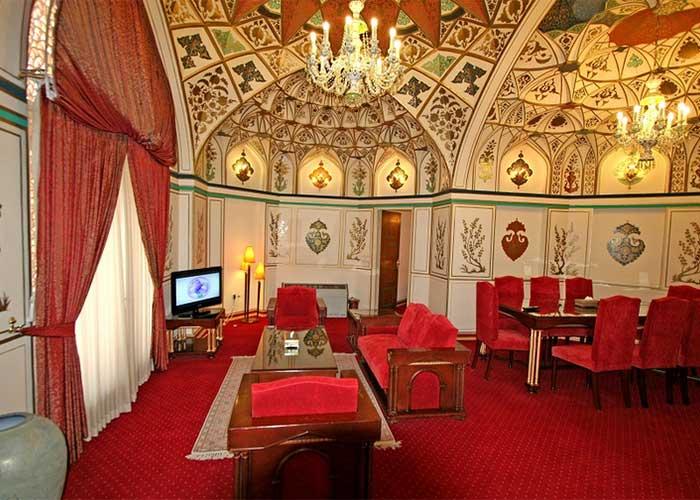 هتل عباسی اصفهان سوئیت صفوی