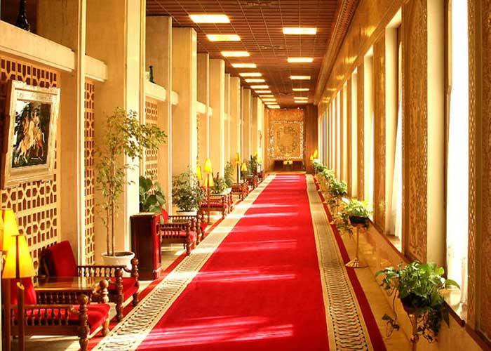 راهرو هتل عباسی اصفهان
