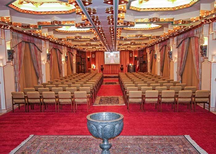 عکس تالار آینه هتل عباسی اصفهان
