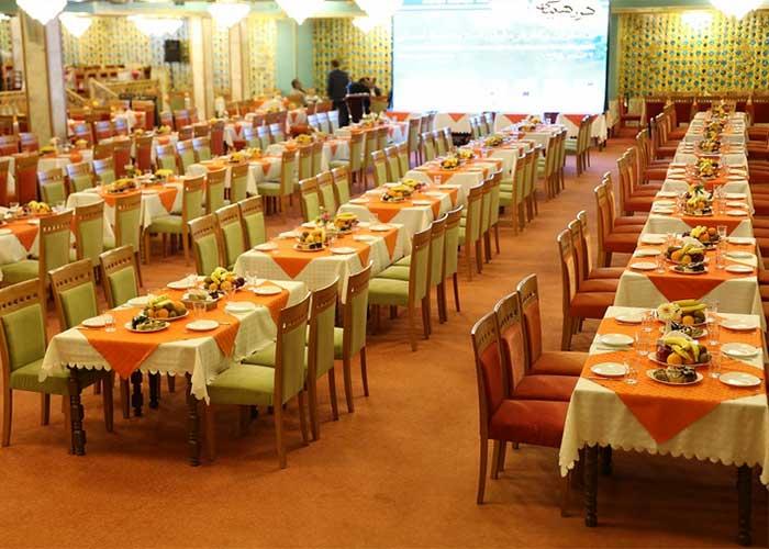 تالار فیروزه هتل عباسی اصفهان