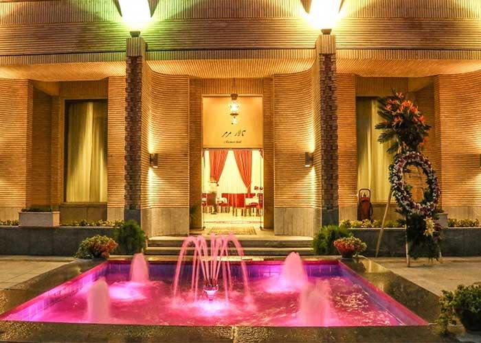 تالار مرمر هتل عباسی اصفهان
