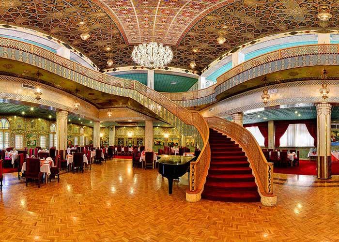 تصاویر رستوران چهل ستون هتل عباسی اصفهان