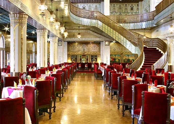 عکس رستوران چهل ستون هتل عباسی اصفهان