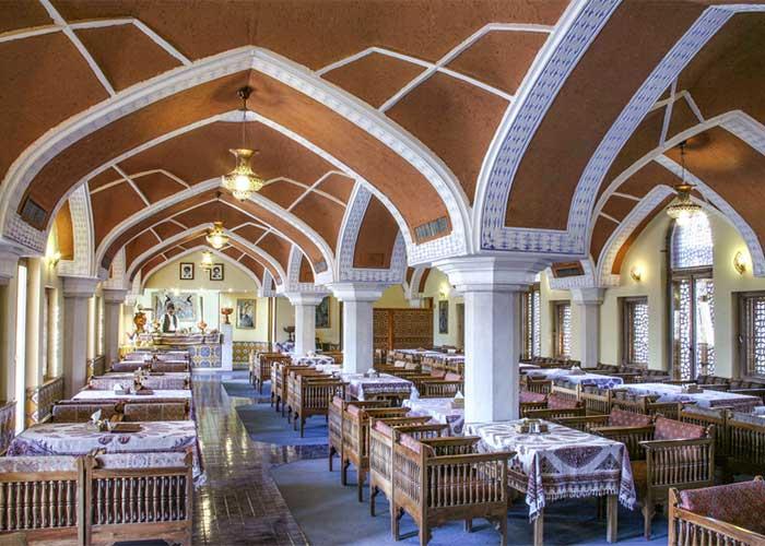 رستوران سنتی هتل عباسی اصفهان