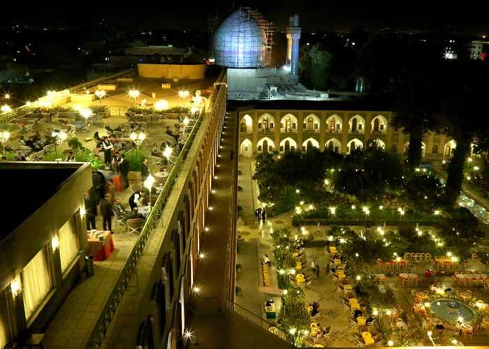 رستوران چشم انداز هتل عباسی اصفهان