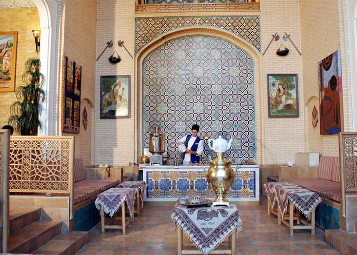 چایخانه هتل عباسی اصفهان