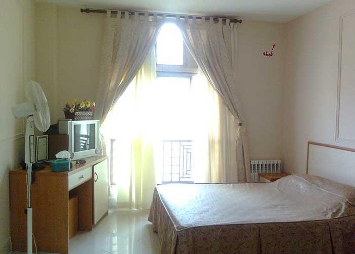 اتاق دو تخته هتل ابیانه ابیانه