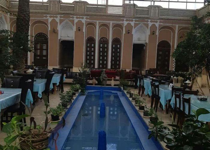 عکس رستوران هتل ادیب الممالک یزد