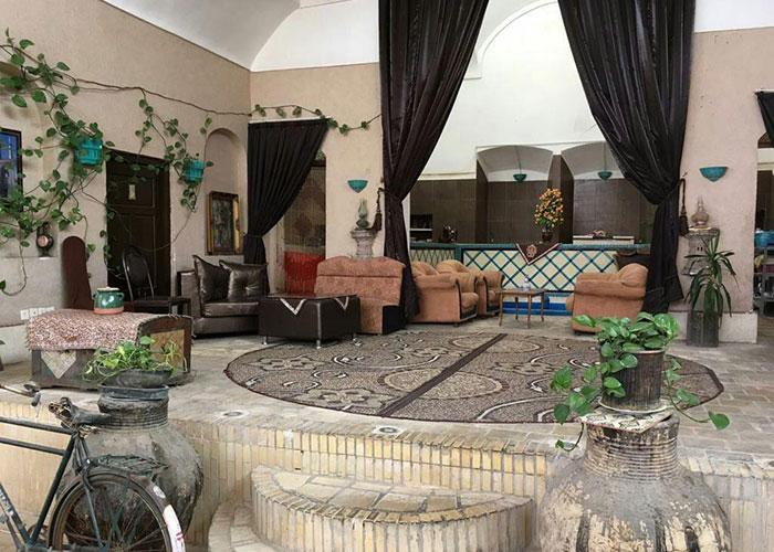 پذیرش هتل ادیب الممالک یزد