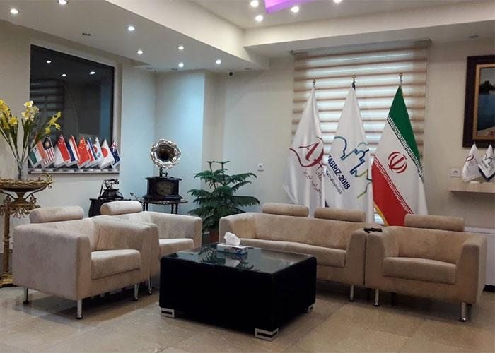 لابی هتل اهراب تبریز