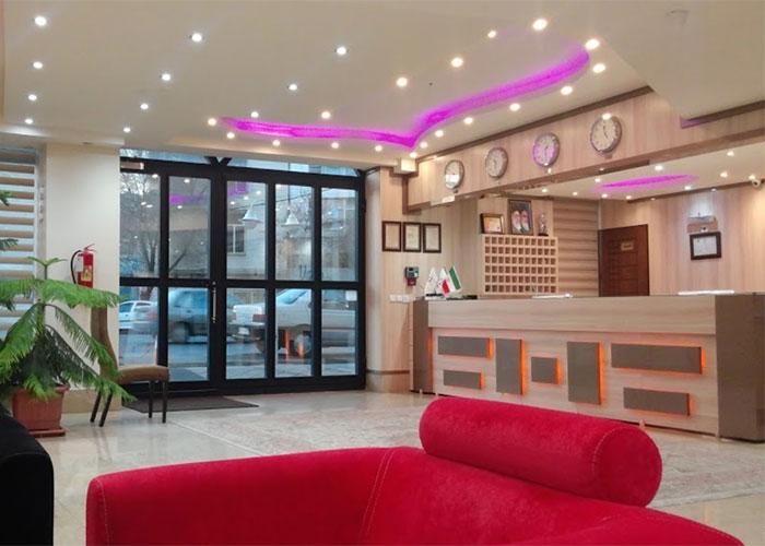 پذیرش هتل اهراب تبریز