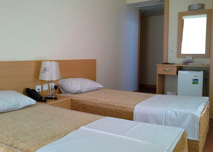 اتاق دو تخته هتل اهراب تبریز