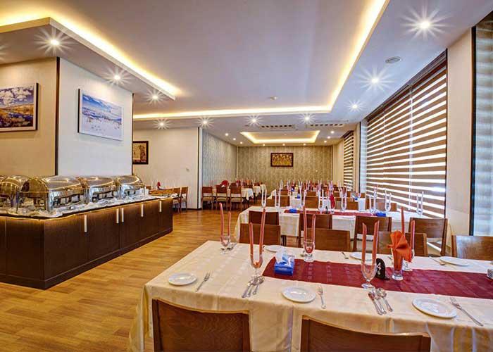 رستوران هتل آکادمی فوتبال ایران