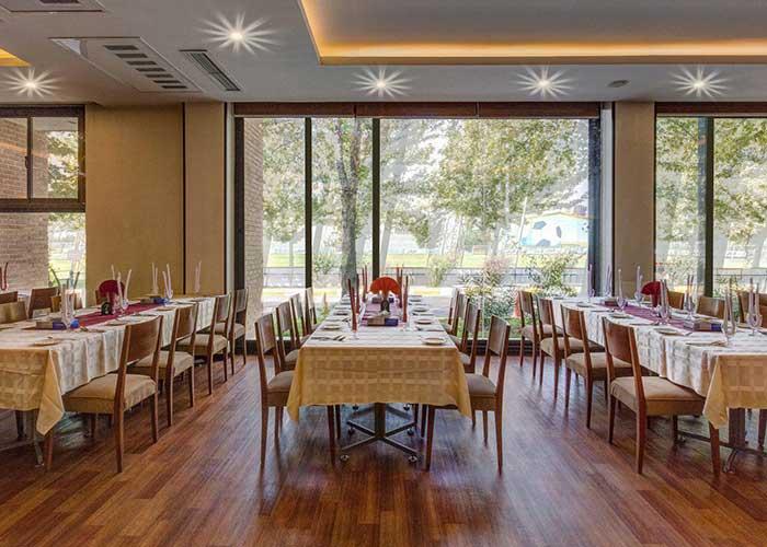 عکس رستوران هتل آکادمی فوتبال ایران