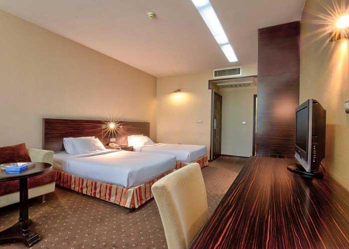 عکس اتاق هتل آکادمی فوتبال ایران