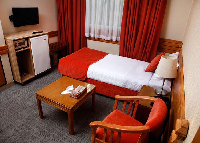 اتاق یک تخته هتل البرز تهران