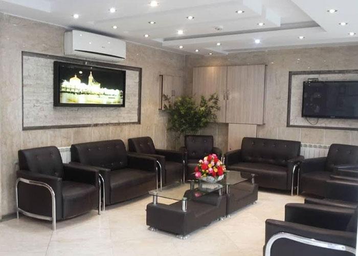 لابی هتل آپارتمان علیزاده مشهد
