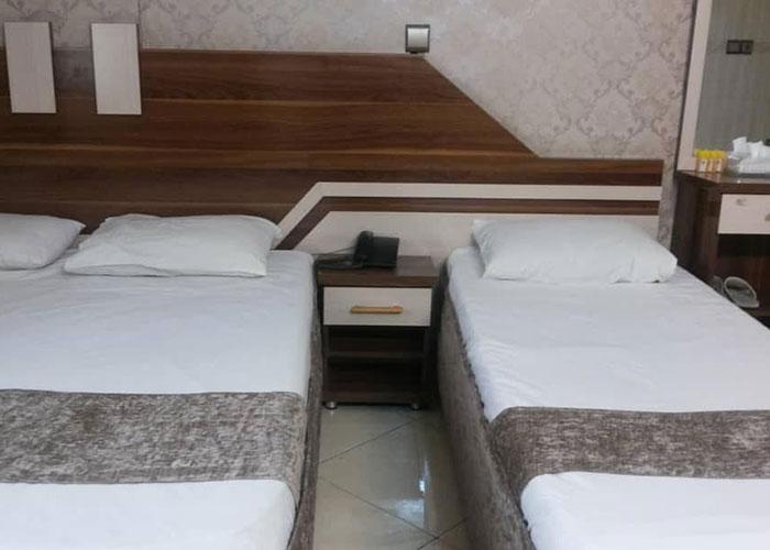 اتاق های هتل آپارتمان علیزاده مشهد