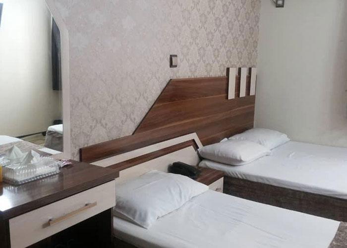 اتاق های هتل آپارتمان علیزاده