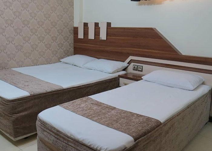 اتاق هتل آپارتمان علیزاده مشهد