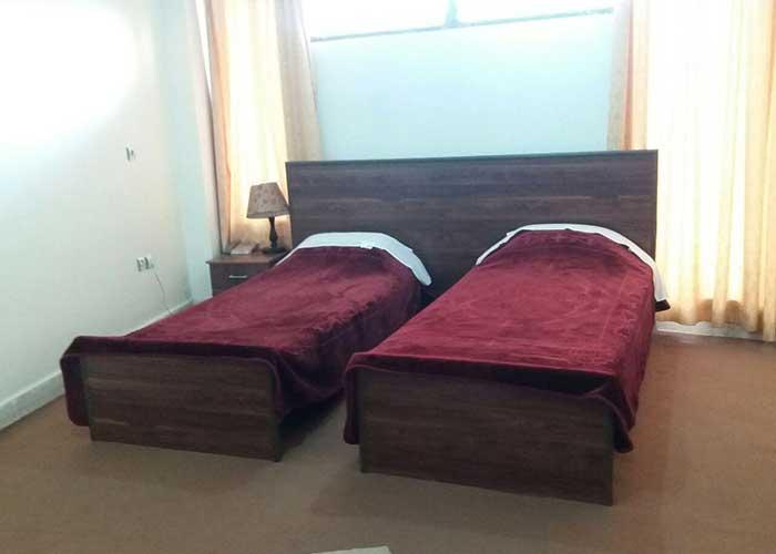 اتاق دو تخته توئین هتل الیانس مراغه