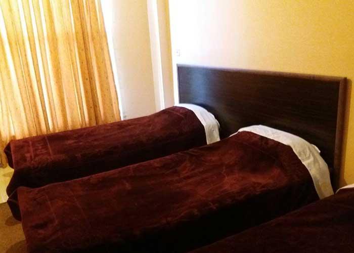 تخت های توئین هتل الیانس مراغه