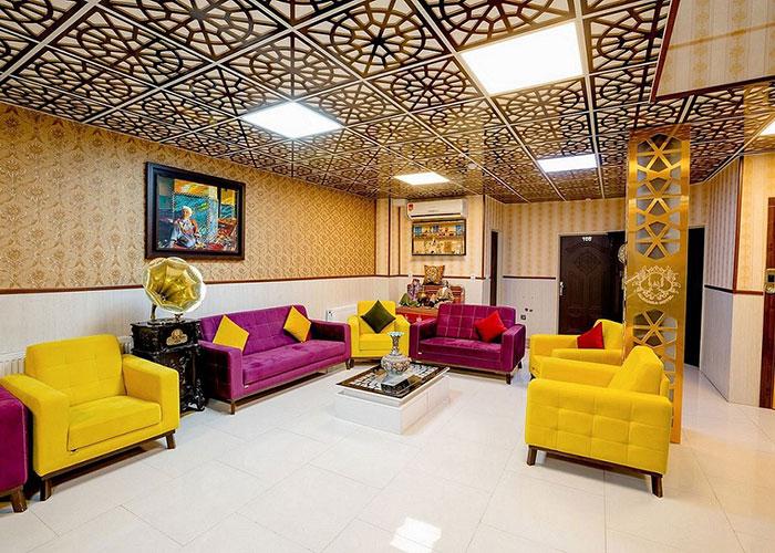 تصاویر لابی هتل الزهرا یزد