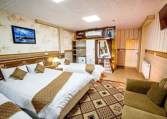 هتل الزهرا یزد تصاویر اتاق