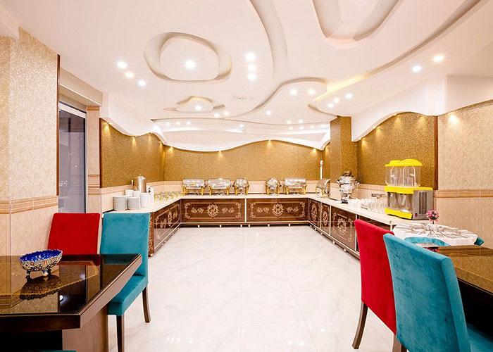 تصاویر رستوران هتل الزهرا یزد