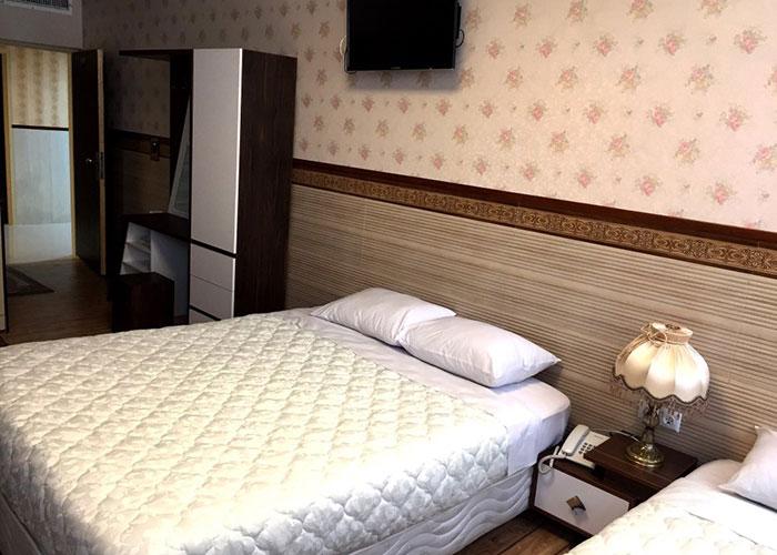 عکس اتاق هتل الزهرا