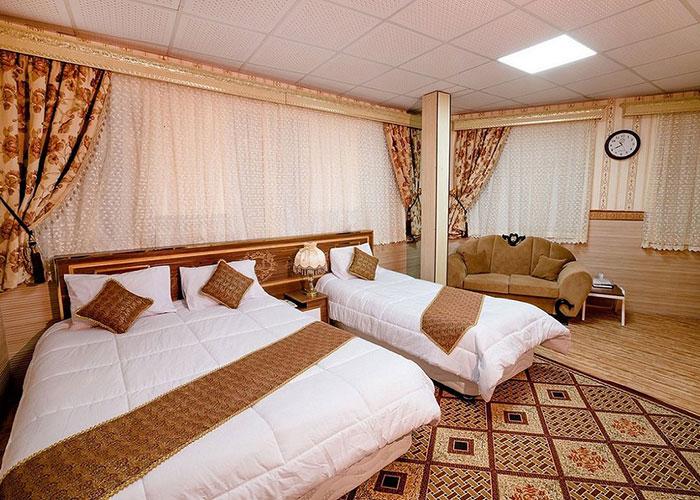 اتاق هتل الزهرا یزد