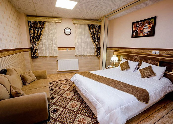 عکس اتاق هتل الزهرا یزد