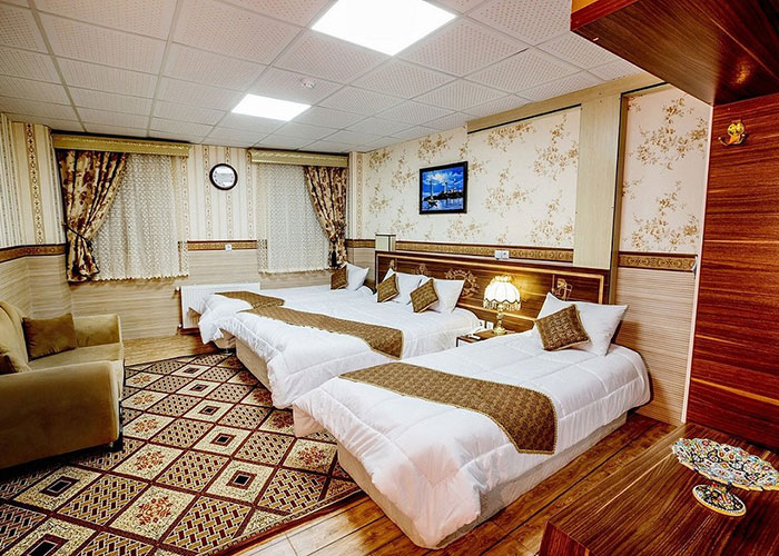 تصاویر اتاق هتل الزهرا یزد