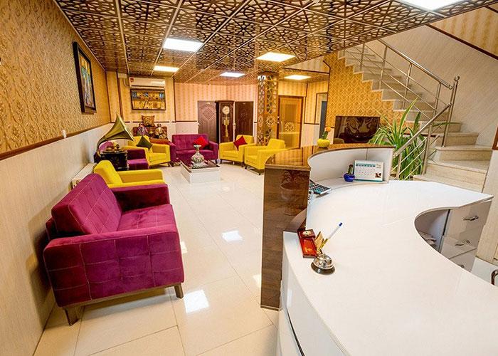 پذیرش هتل الزهرا یزد