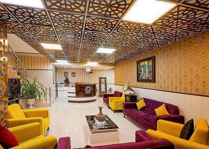 لابی هتل الزهرا یزد