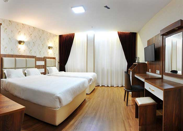 اتاق های هتل آماتیس تهران