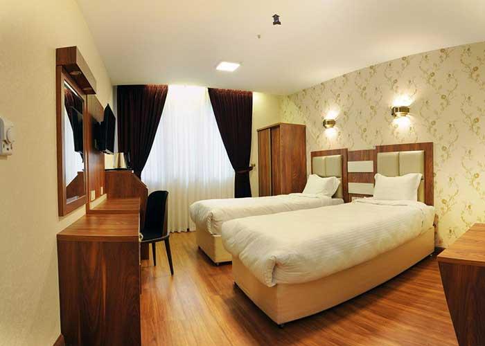 عکس اتاق های هتل آماتیس تهران