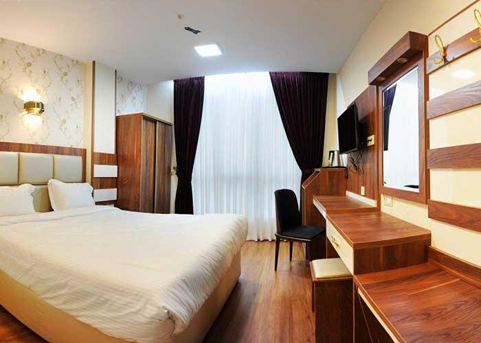 تصاویر اتاق های هتل آماتیس تهران