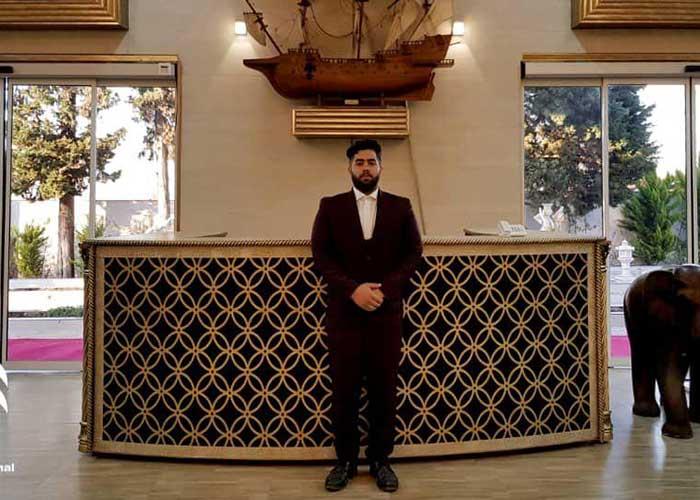 تصاویر هتل کاخ امیران چالوس