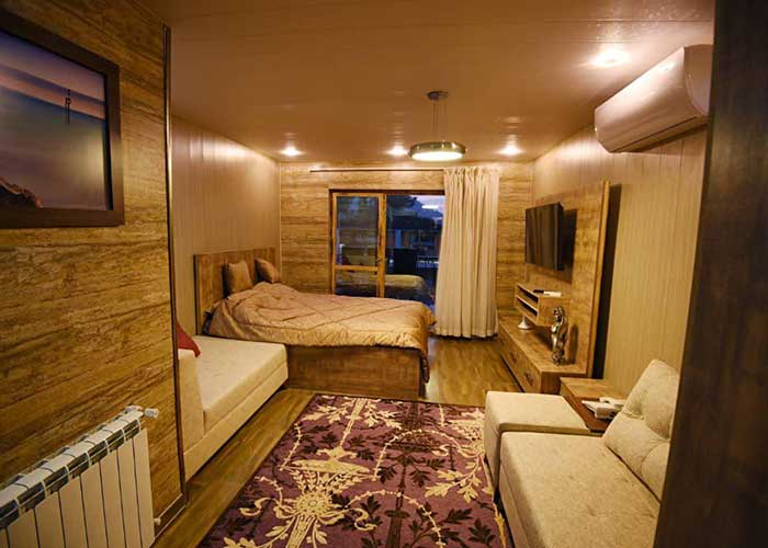 سه تخته هتل کاخ امیران چالوس