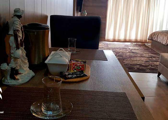 عکس اتاق هتل کاخ امیران چالوس