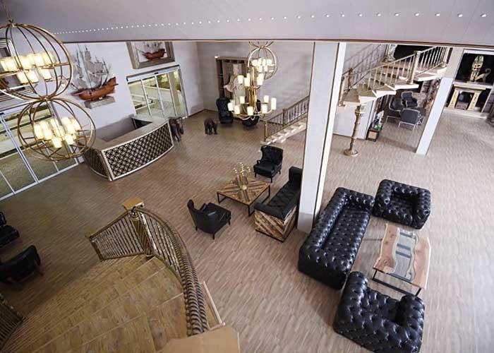 عکس لابی هتل کاخ امیران چالوس