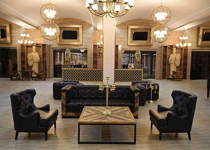 لابی هتل کاخ امیران چالوس