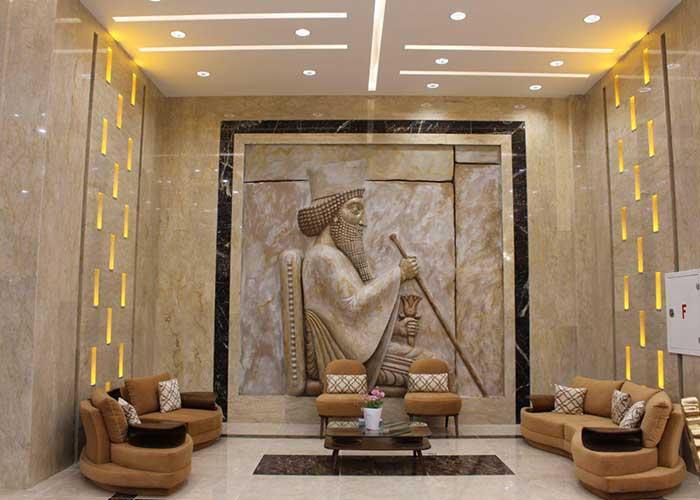لابی هتل امیران 2 همدان