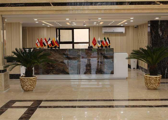 پذیرش هتل امیران 2 همدان