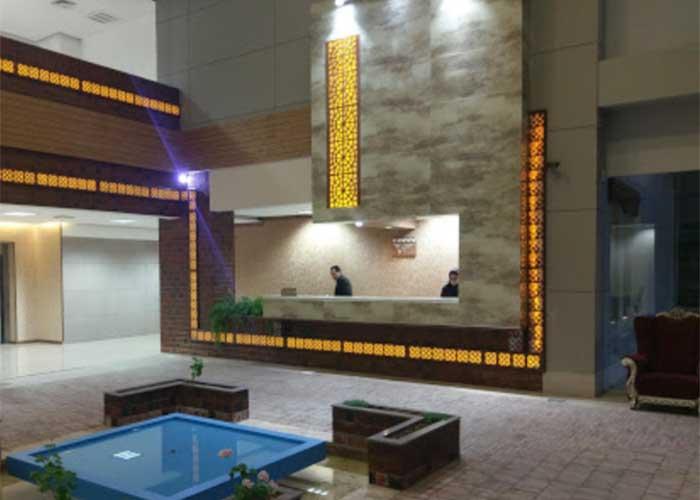 پذیرش هتل امیر کبیر شیراز