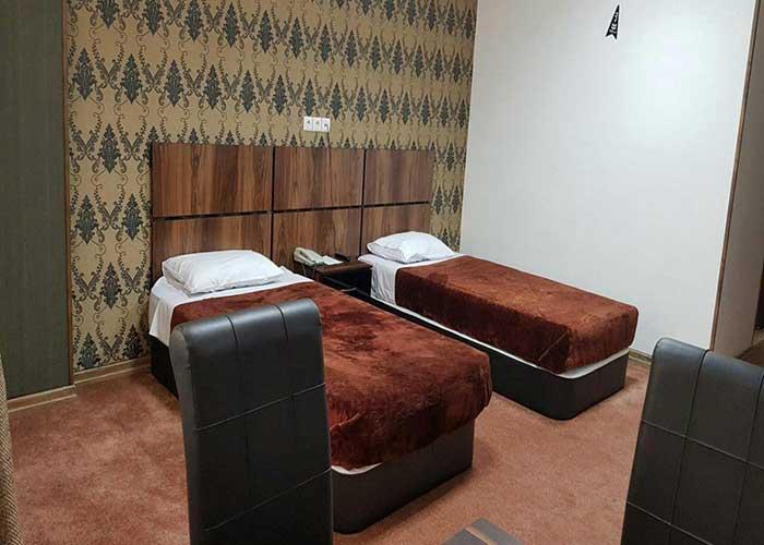 اتاق هتل امیر کبیر شیراز